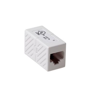 ACT Inline koppelstukken RJ-45 unshielded Kabel adapter - Wit
