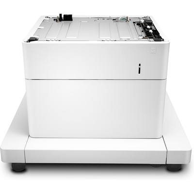 Hp papierlade: LaserJet 1x550 papierinvoer met kast - Wit
