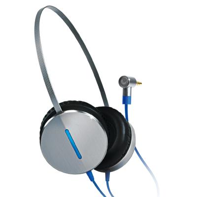 Gigabyte FLY Headset - Zwart, Blauw, Zilver