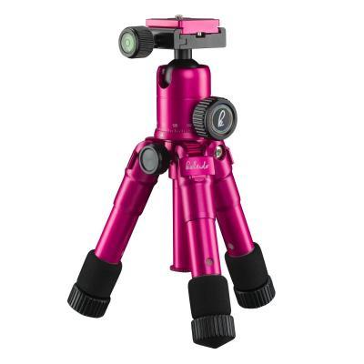Mantona tripod: kaleido mini glamour pink metallic - Roze