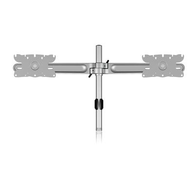 ICY BOX IB-MS606M2 Monitorarm - Zilver