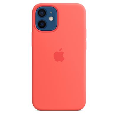 Apple Siliconenhoesje met MagSafe voor iPhone 12 mini - Citrusroze Mobile phone case