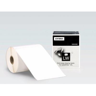Dymo labelprinter: LabelWriter 4XL VERZENDINGSETIKETTEN - Zwart, Wit