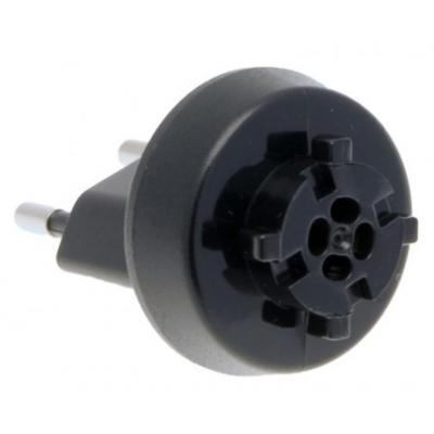 Acer stekker-adapter: Adaptor Plug EU.2P - Zwart
