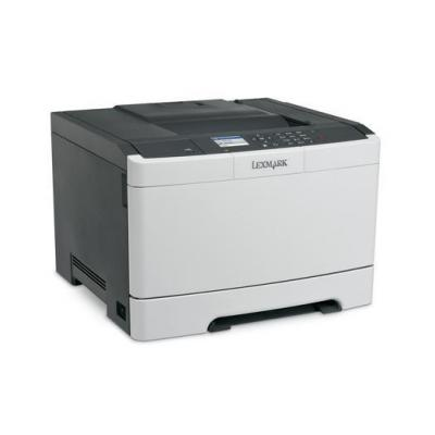 Lexmark laserprinter: CS417dn - Zwart, Wit