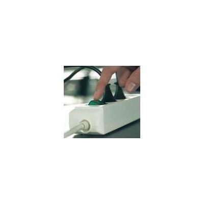Brennenstuhl surge protector: Eco-Line + Switch & 1,5 mm² Ø Cable - Grijs
