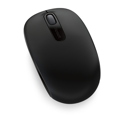 Microsoft Wireless Mobile Mouse 1850 Computermuis - Zwart