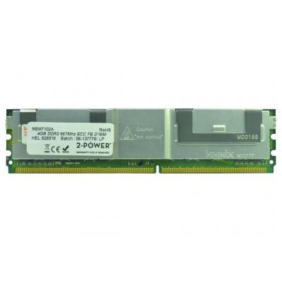 2-power RAM-geheugen: 4GB DDR2 667MHz FBDIMM Memory - replaces 41Y2845