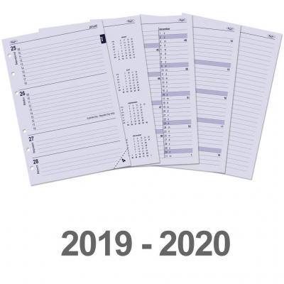 Kalpa Kalendarium A5 organiser-vulling week-agenda 2019 en 2020