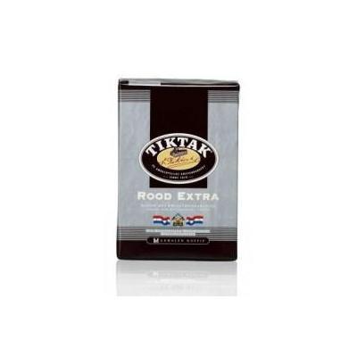 Tiktak koffie: Rood Extra standaard maling 6x1000 gram