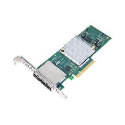 Adaptec interfaceadapter: 1000-16e - Aluminium, Zwart, Groen