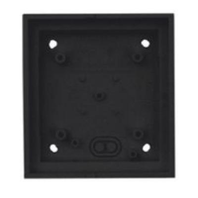 Mobotix T24M\Single On-Wall mount Black Elektrische aansluitkast - Zwart