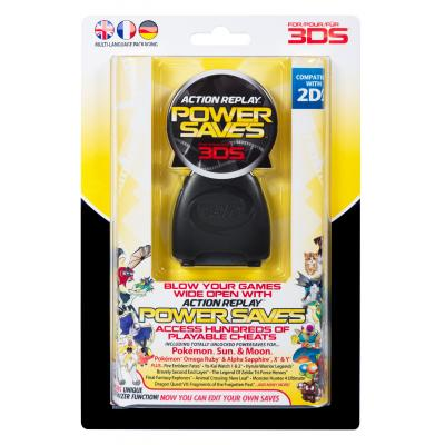 Datel hardware: Datel, Action Replay Powersaves  3DS