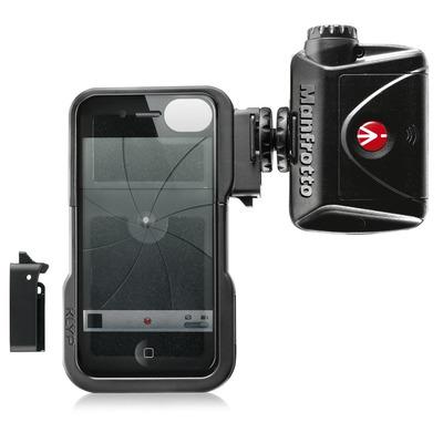 Manfrotto Klyp Mobile phone case - Zwart