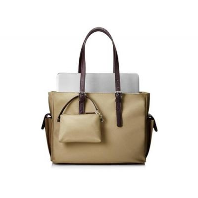 "Hp laptoptas: 35.56 cm (14"") Taupe Women Tote - Beige"