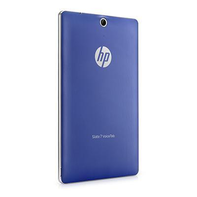 Hp tablet case: Blauw batterijdeksel voor Slate 7 VoiceTab