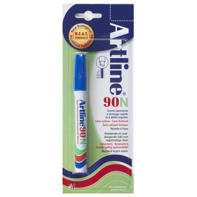 Artline 90 Blue Marker - Blauw, Wit