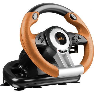 Speed-link game controller: DRIFT O.Z. - Zwart, Grijs, Oranje