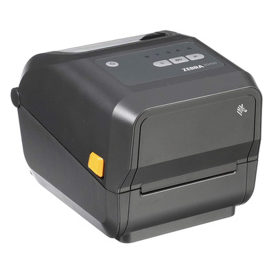 Zebra ZD420t TT - USB - Ethernet - BTLE (203dpi) Labelprinter - Grijs