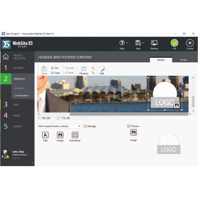 Incomedia software: WebSite X5 Start 13 (NL)
