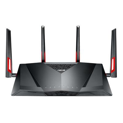 Asus wireless router: DSL-AC88U - Zwart