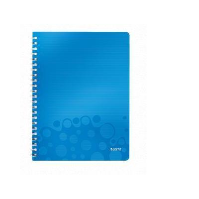 Leitz schrijfblok: A4, 80 gsm, 540g - Blauw, Metallic