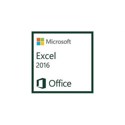 Microsoft spreadsheet software: Excel 2016, 1u