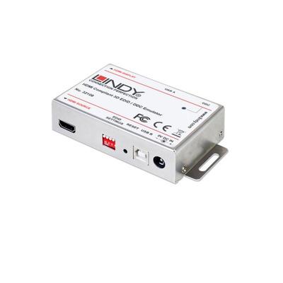 Lindy EDID/DDC Emulator for HDMI Displays Video switch - Wit