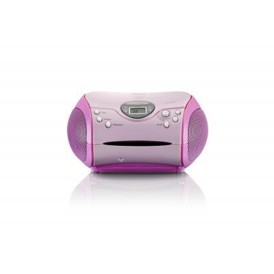 Lenco CD-radio: SCD-24 - Roze