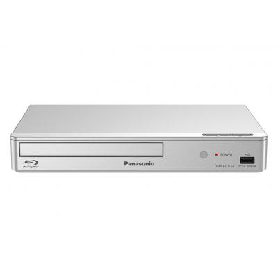 Panasonic Blu-ray speler: 3D Blu-Ray-Player, HDMI, USB 2.0 - Zilver
