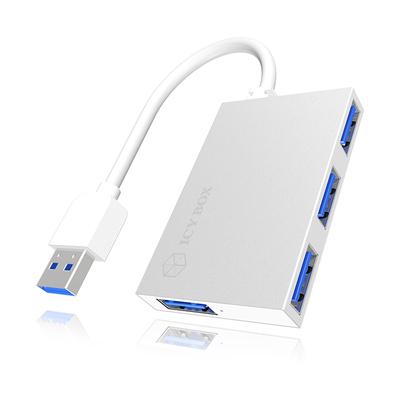 ICY BOX IB-Hub1402 Hub - Zilver