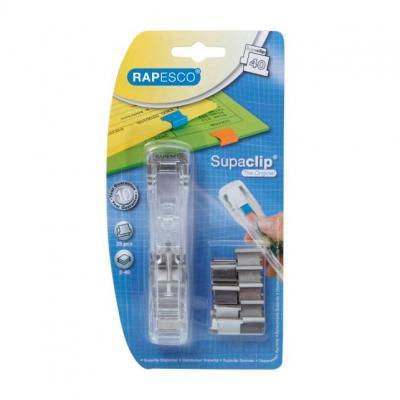 Rapesco paperclip: Supaclip 40 - Transparant