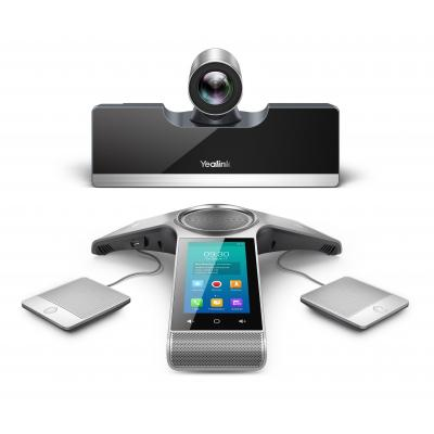 Yealink VC500 Videoconferentie systeem - Zwart, Zilver