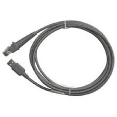 Datalogic Cable USB Type-A, Straight, 2m USB kabel - Grijs