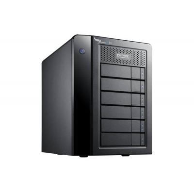 Promise technology SAN: Pegasus2 R6 - Zwart
