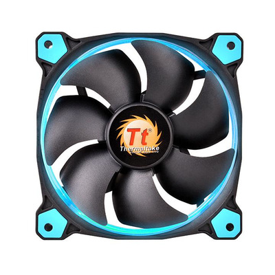 Thermaltake Riing 12 Hardware koeling - Zwart, Blauw