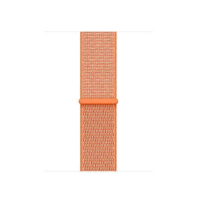 Apple : Geweven sportbandje - Sinaasappel (38 mm) - Oranje