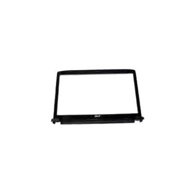 Acer laptop accessoire: LCD Cover Bezel 16'' CCD with microphone for Aspire 6930G, Black - Zwart