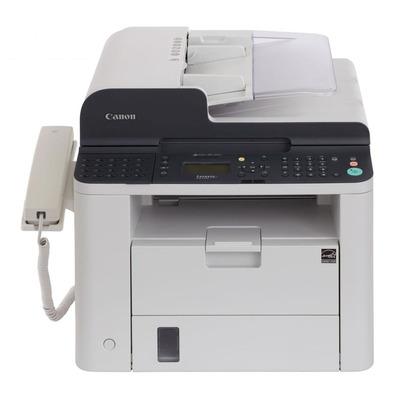 Canon faxmachine: i-SENSYS FAX-L410 - Zwart, Wit