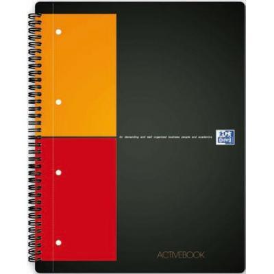 Elba schrijfblok: Activebook - Zwart