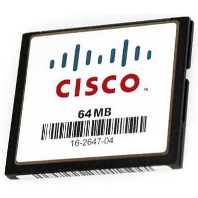 Cisco networking equipment memory: Compact Flash memory for Catalyst 4500 E-Series, 64MB