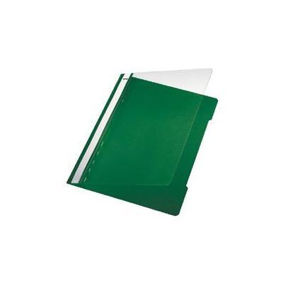 Leitz Standard Plastic File White A4 PVC Light-green Stofklepmap - Groen