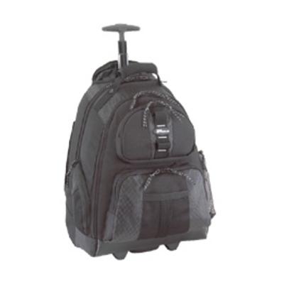 Targus rugzak: 15 - 15.4 inch / 38.1 - 39.1cm Rolling Laptop Backpack - Zwart
