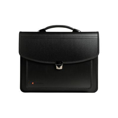 Exacompta aktentas: Exatravel multipurpose briefcase, Polypropylene, 26 x 38 cm, Black - Zwart
