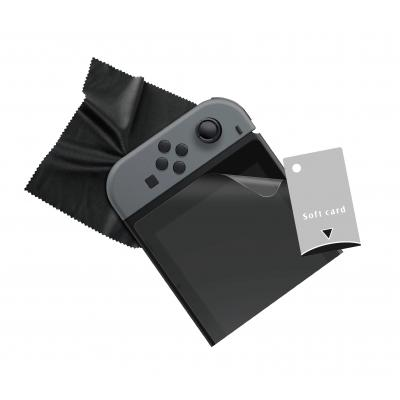 Gioteck hardware: Gioteck, Screen Protector + Cloth  Nintendo Switch