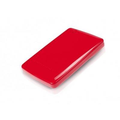 "Conceptronic 2.5"" Hard Disk Box Mini Behuizing - Rood"
