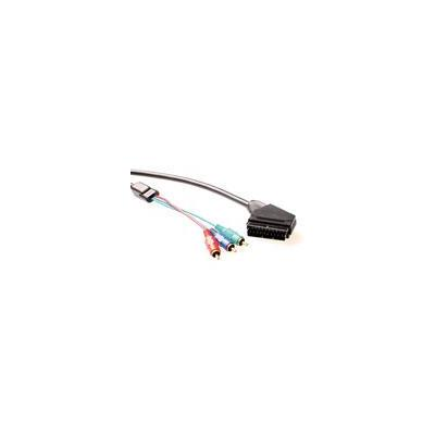 Advanced cable technology : Component Video kabel Scart  - 3 x Tulp male