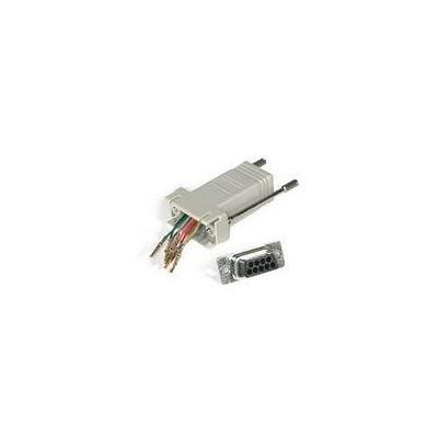 C2G RJ45/DB9M Modular Adapter Kabel adapter - Grijs