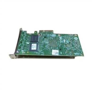 DELL Intel I350 QP - Netwerkadapter - PCIe low profile - Gigabit Ethernet x 4 - voor PowerEdge R520 Netwerkkaart