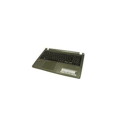 Acer notebook reserve-onderdeel: Top Cover/Keyboard (US), Grey - Grijs